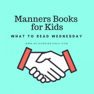 What to Read Wednesday: Manners Books for Kids