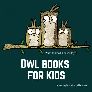 What to Read Wednesday: Owl Books for Kids
