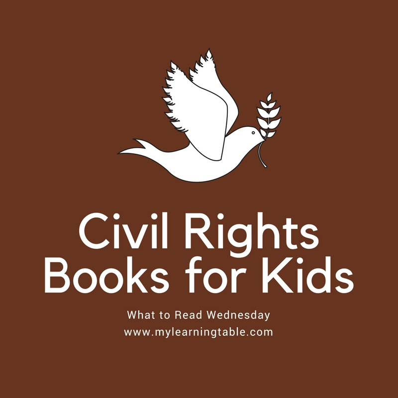 To recognize Dr. Martin Luther King, Jr. Day, we are featuring some of the best civil rights books for kids this week. These books are wonderful conversation starters for teaching kids to stand up for what is right and to learn from our past.