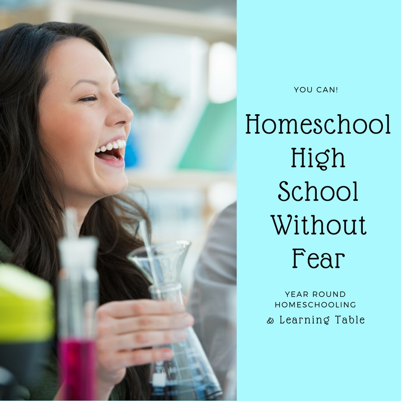 Not only is homeschooling high school possible, it is almost easier than the earlier years!