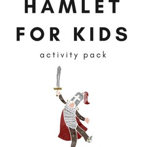 This printable activity pack includes Hamlet writing prompts, notebook page, Venn Diagram, and Acrostic Poem writing activities (Elementary, Middle) 6 pages.