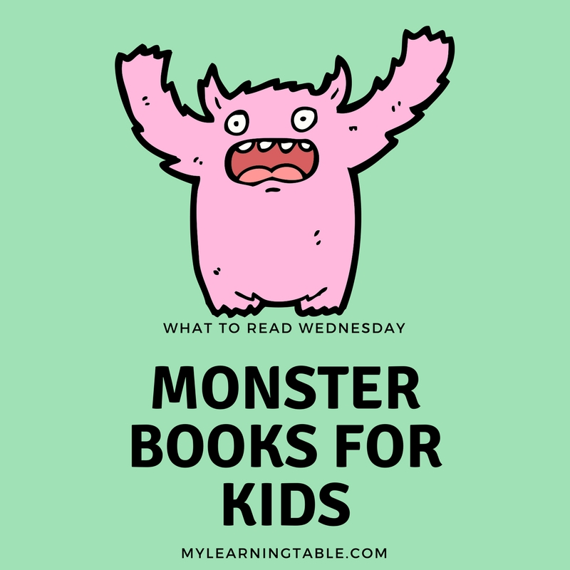 Some of our favorite monster books for kids helped us make monsters fun and silly, and not so scary anymore. What monster books do your kids love? Grover's reluctant journey through a book with a surprise monster at the end in The Monster at the end of this Book is my kids' number one favorite. I am partial to the wild rumpus in Where the Wild Things Are, but all of these titles are wonderful. Enjoy!