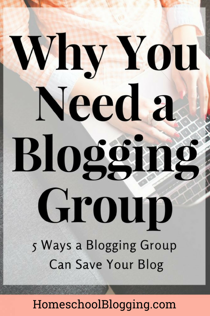 Blogging is hard work! You are working to grow your blog, spending precious hours to write posts, create images, and promote your content. Yet, you are finding that it is really difficult to market your blog alone.  Rather than giving up on your dreams, find out 5 ways being part of a group can save your blog.
