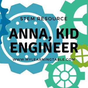 Do you want to encourage your kids to be innovative, creative, resourceful, and persistent? Then check out the new STEM book Anna, Kid Engineer, written by Dr. Shenek Alston, homeschooling mother of three and math instructor.
