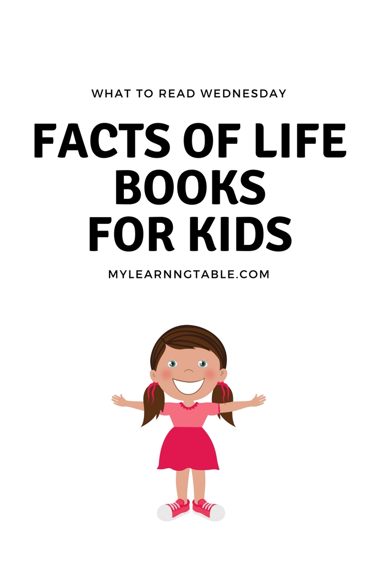 "Facts of Life Books for Kids: As much as we don't want to admit it, our kids are growing up every day! They are changing and becoming independent people. Beginning when they are young, you can prepare them for ""the talk"" that is inevitable. Nature study is actually a wonderful way to introduce these concepts early, and even plants and flowers can teach kids about reproduction, growth, and change."