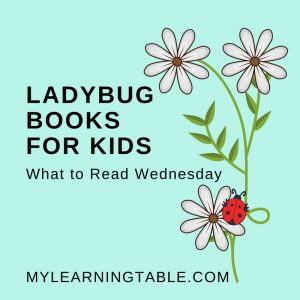 The best ladybug books for kids: If you have a ladybug fan in your home, you'll love the books we are featuring this week. These fun and smile-inducing polka-dotted beauties are a lot of fun to learn about! #homeschool #unitstudy #insects #science #languagearts #reading