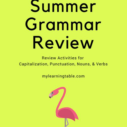 This printable activity pack includes grammar review activities for capitalization, punctuation, nouns, and verbs  (Elementary, Middle) 10 pages.