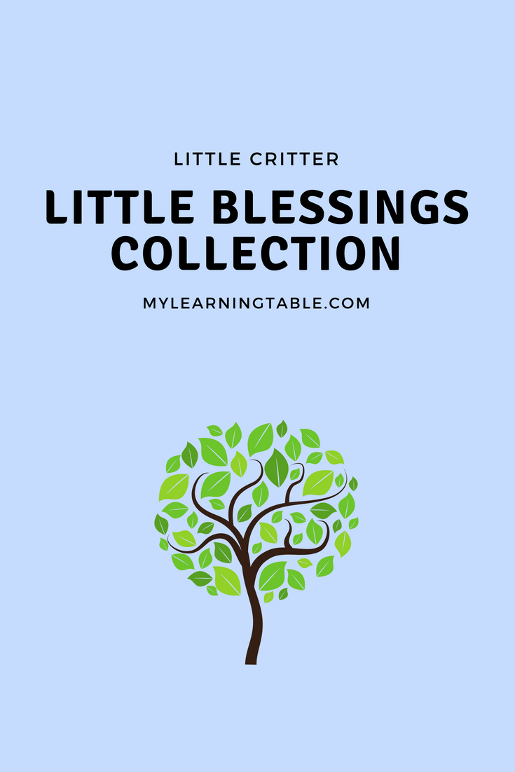 The Little Critter Blessings Collection is great for a young reader, because of it's short sentences and minimal text blocks. Plus, there are bright, colorful pictures on each page, making the stories even more engaging. My favorite way to share this book with a child, however, is as a read-aloud. The life messages in the stories are wonderful conversation starters for parents and children, so reading aloud creates a special time to share these lessons together.
