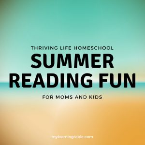 Summer Reading Fun for Moms and Kids