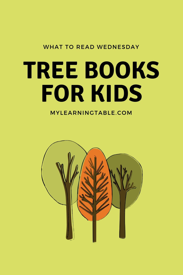 The best tree books for kids! Use this list to help you put together a homeschool unit study about trees for all ages. #childrensbooks #kidlit