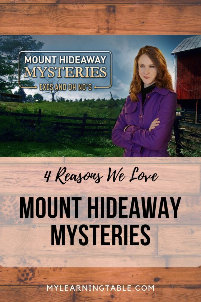With gorgeous scenery with likable characters, and an intriguing mystery, Mount Hideaway Mysteries: Exes and Oh No's is family fun that keeps you guessing. Learn more at https://www.mounthideaway.com/anmylrntbl/