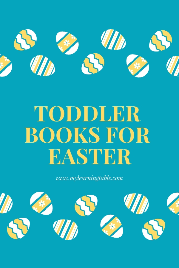 Toddler Books for Easter--fun books to fill their baskets!