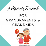 Sharing Stories, Making Memories: A Journal for Grandparents and Grandchildren is a memory journal for one grandparent and one grandchild to work through together.