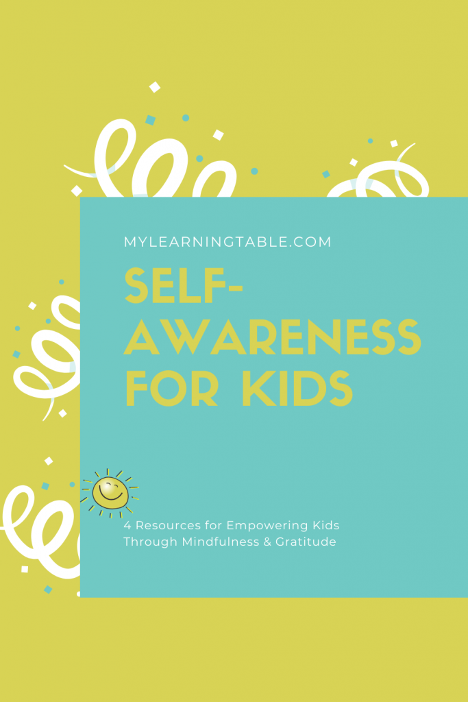 self-awareness for kids