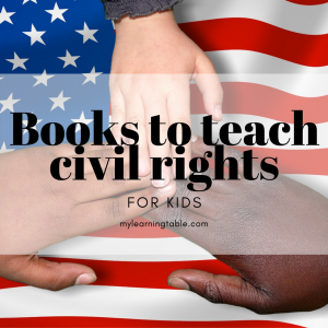 Books to teach civil rights for kids