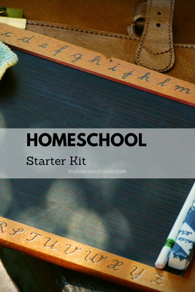 Homeschool starter kit: what to do if you find yourself suddenly homeschooling.