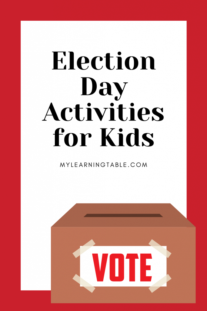 Election Day Activities for Kids: Teach kids about voting with this simple craft and resources.