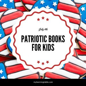 Patriotic books for kids for 4th of July